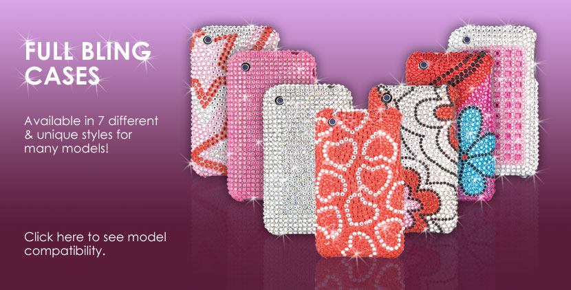 Full Diamond Bling Cases from Talon